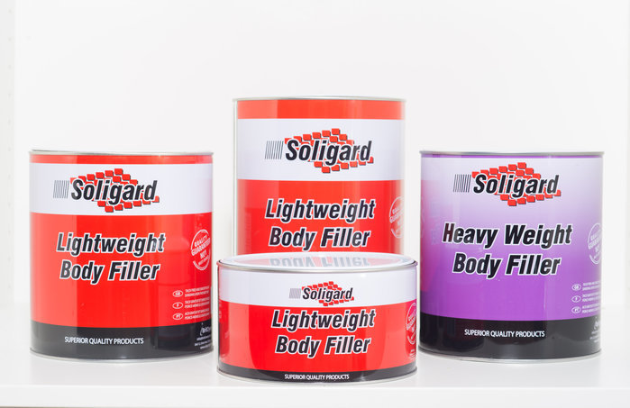 Soligard Heavyweight and Lightweight Body Fillers